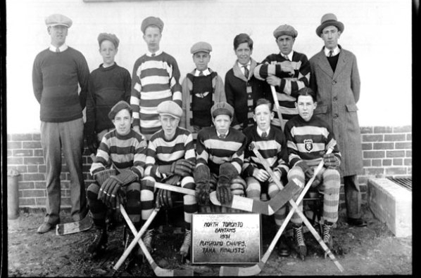 North Toronto Bantams 1931 Rectangle